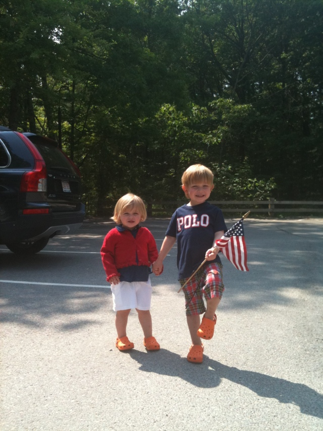 Mac and Avery Carlisle Memorial Day Parade
